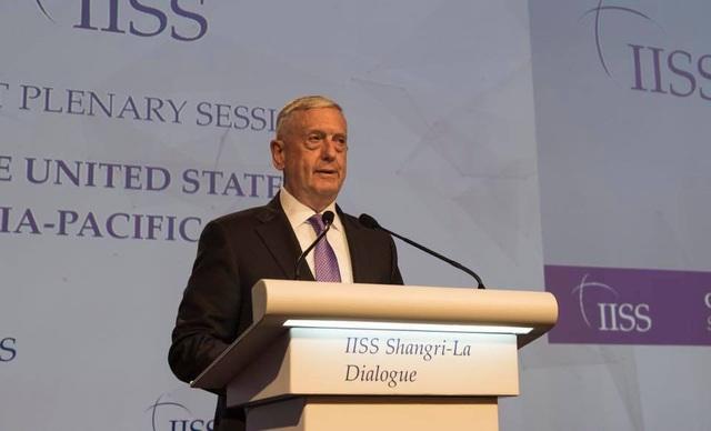 Bộ trưởng Quốc phòng Mỹ Jim Mattis sẽ có bài phát biểu tại Đối thoại Shangri-La 2018. (Ảnh: Foreign Policy)
