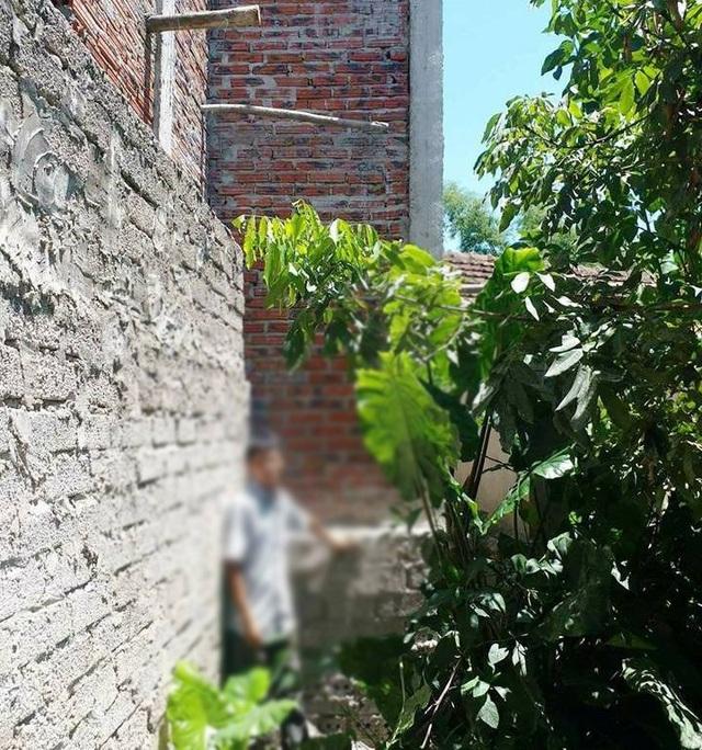 Phần đất nơi nhà báo Trần Cường đến tìm hiểu và bị đánh sau đó.