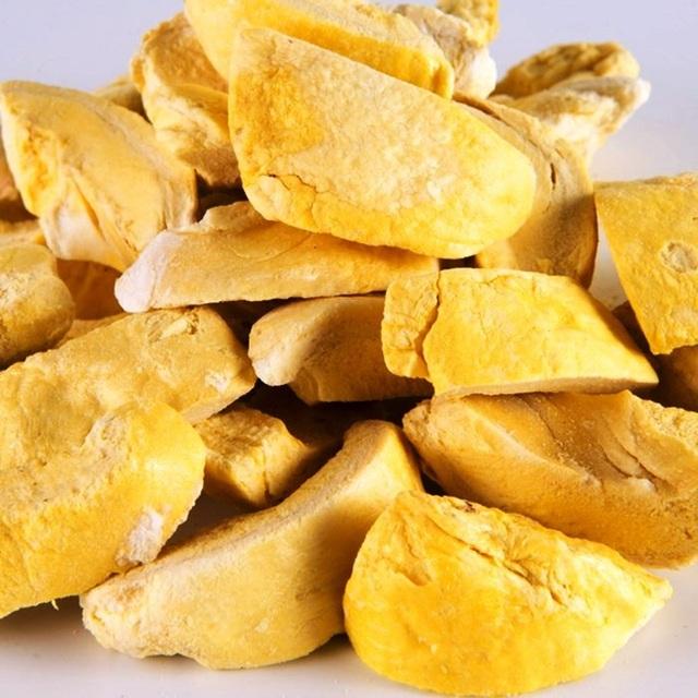 Sầu riêng sấy của Việt Nam khiến các đối tác quốc tế và du khách phải trầm trồ khen ngợi vì chất lượng thơm ngon.