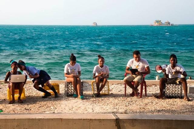 Cuộc sống thanh bình trên đảo