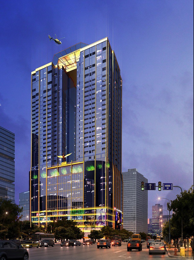 Sunshine Center kỳ vọng trở thành tòa nhà sang, sáng nhất Tây Hà Nội.