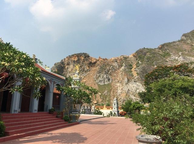 Một mỏ đá được cấp phép khai thác cách di tích Hàn Sơn Tự chỉ khoảng 70m