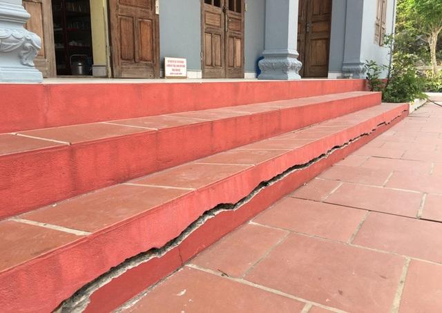 Việc khai thác đá được cho là đã làm ảnh hưởng đến nhiều công trình của chùa Hàn Sơn