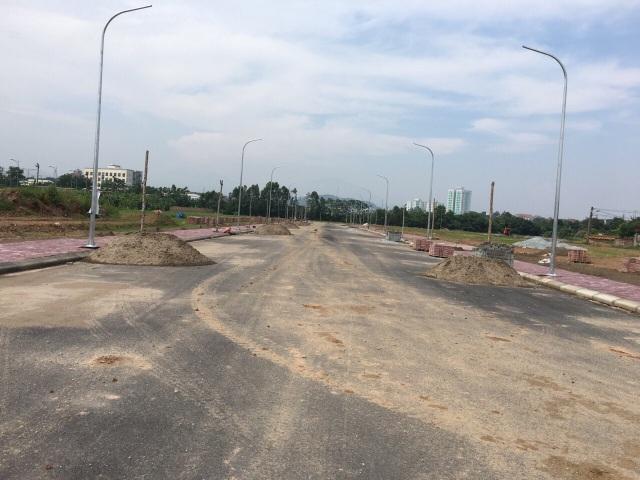 Cơ sở hạ tầng tại Fairy Town đã hoàn thiện xong 1 số trục đường
