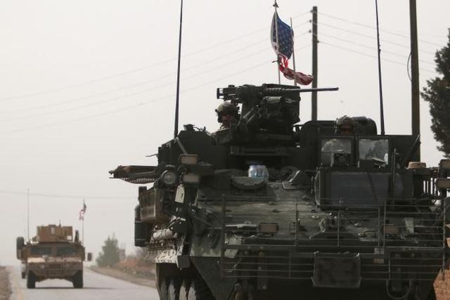 Quân đội Mỹ ở Syria (Ảnh minh họa: Reuters)