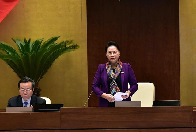 Chủ tịch Quốc hội kêu gọi người dân bình tĩnh, tin tưởng vào Đảng, Nhà nước. (Ảnh: Như Phúc)