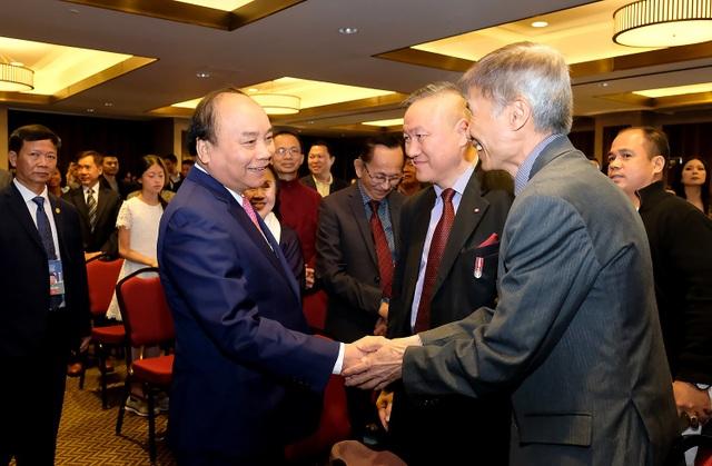 Thủ tướng Nguyễn Xuân Phúc gặp gỡ bà con kiều bào tại Canada