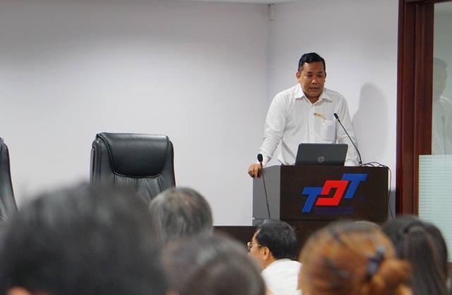TS Lê Văn Út, Trưởng phòng Khoa học công nghệ của trường ĐH Tôn Đức Thắng.