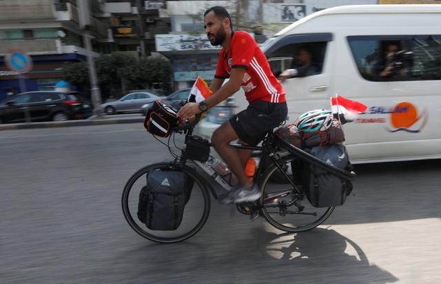 Anh hi vọng sẽ kịp đến nơi để xem trận đấu giữa Ai Cập và Uruguay diễn ra vào ngày 15/6 tới đây