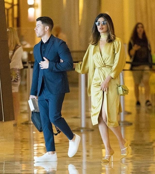 Priyanka Chopra ăn mặc sành điệu khi về ra mắt gia đình Nick Jonas