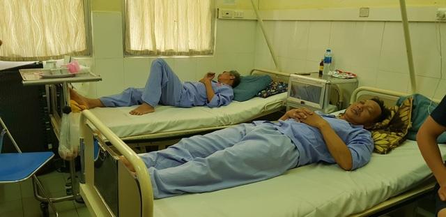 Sau hơn 10 ngày được điều trị tích cực, các nạn nhân vừa được xuất viện