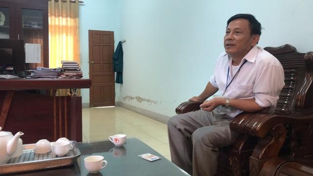 Ông Nguyễn Hải Hậu - Chủ tịch UBND xã Nghi Hưng cho biết: Khu du lịch sinh thái Đại Huệ có nhiều sai phạm...