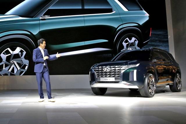 HDC-2 Grandmaster hé lộ phong cách thiết kế mới của Hyundai - 1