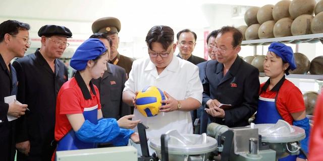 Lãnh đạo Triều Tiên Kim Jong Un. (Nguồn: Reuters/KCNA)