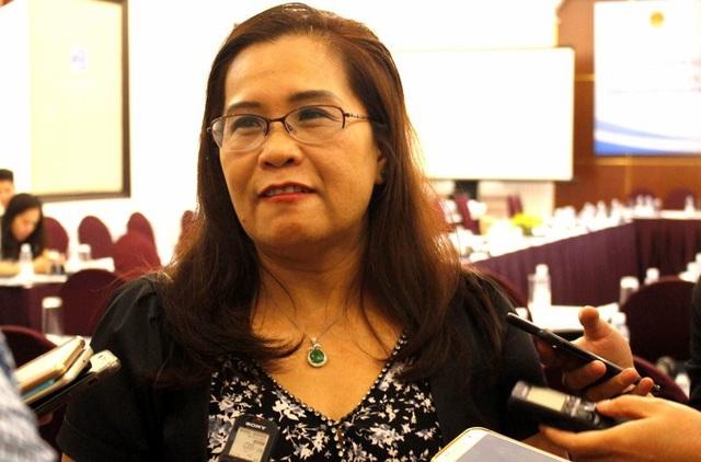 Bà Nguyễn Thị Lan Hương - Nguyên Viện trưởng Viện Khoa học lao động xã hội (Bộ LĐ-TB&XH)