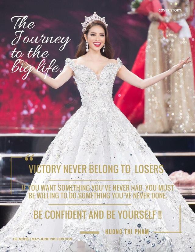 """""""Nếu bạn muốn điều mà bạn chưa bao giờ có, hãy sẵn sàng làm những điều mà bạn chưa bao giờ làm"""" - Phạm Hương gửi gắm lời chia sẻ."""