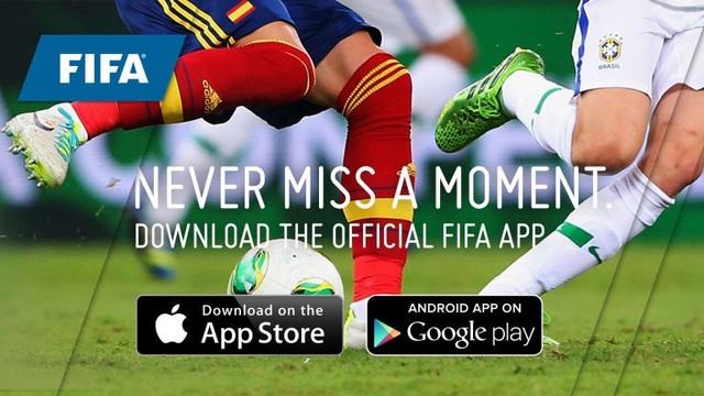 Người sử dụng có thể bầu chọn cho cầu thủ xuất sắc nhất ngay trên ứng dụng của FIFA