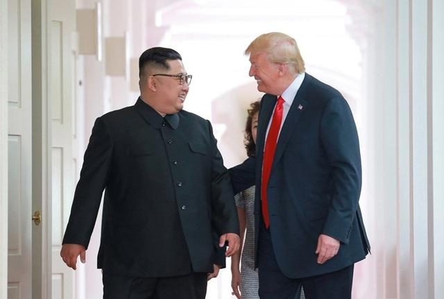 Nhà lãnh đạo Triều Tiên Kim Jong-un và Tổng thống Mỹ Donald Trump (Ảnh: Reuters)
