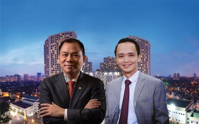 Kế hoạch sản xuất smartphone của tỷ Phạm Nhật Vượng và đưa Bamboo Airways đi vào hoạt động năm 2018 của tỷ phú Trịnh Văn Quyết gây chú ý với giới đầu tư cổ phiếu