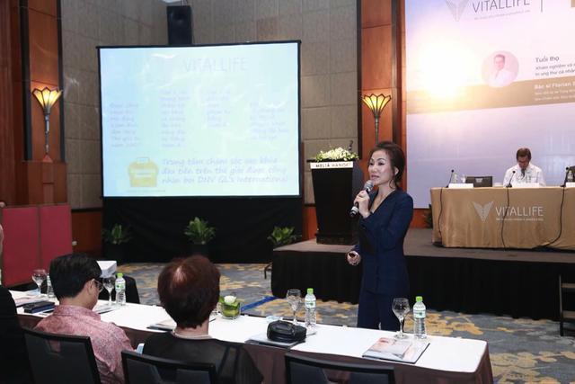 Bà Nguyễn Thanh Phương - Tổng Giám Đốc công ty WHS Việt Nam