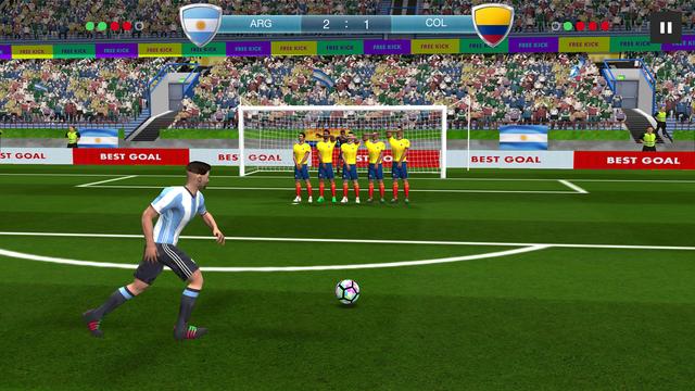 Những game bóng đá với đồ họa đẹp mắt để hòa cùng không khí World Cup - 2