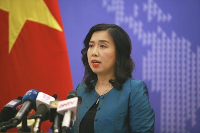Bà Lê Thị Thu Hằng - Người phát ngôn Bộ Ngoại giao