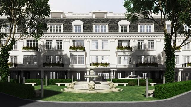 Porte De Ville – Dự án biệt thự cao cấp tại 58 Trúc Khê – Hà Nội