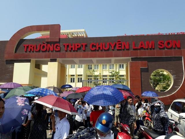 Trường THPT chuyên Lam Sơn công bố điểm chuẩn dự kiến vào lớp 10