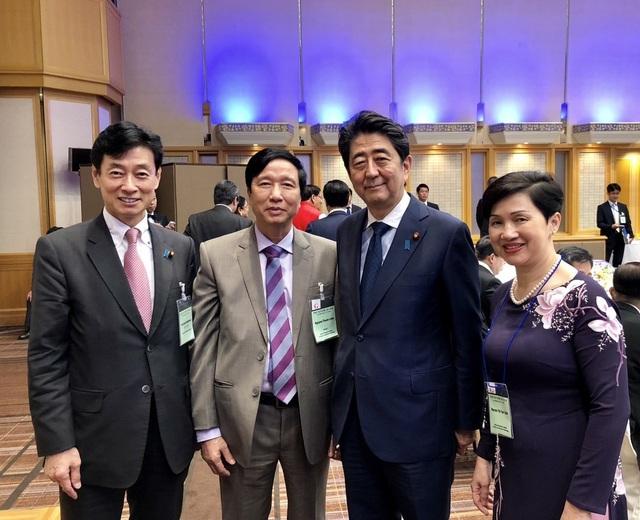 Trước khi diễn ra Lễ trao giải thưởng Nikkei Châu Á 2018, GS Nguyễn Thanh Liêm đã tham dự Hội nghị quốc tế lần thứ 24 về Tương lai của châu Á diễn ra ngày 11/6 theo lời mời từ Ban Tổ chức. Hội nghị này có sự tham dự của Thủ tướng Nhật Bản Shinzo Abe và là một diễn đàn đặc biệt quy tụ các nhà lãnh đạo và giám đốc các doanh nghiệp hàng đầu Châu Á/Thái Bình Dương để cùng trao đổi những ý tưởng mới nhất nhằm tạo ra những thay đổi tích cực và lâu dài trong khu vực.