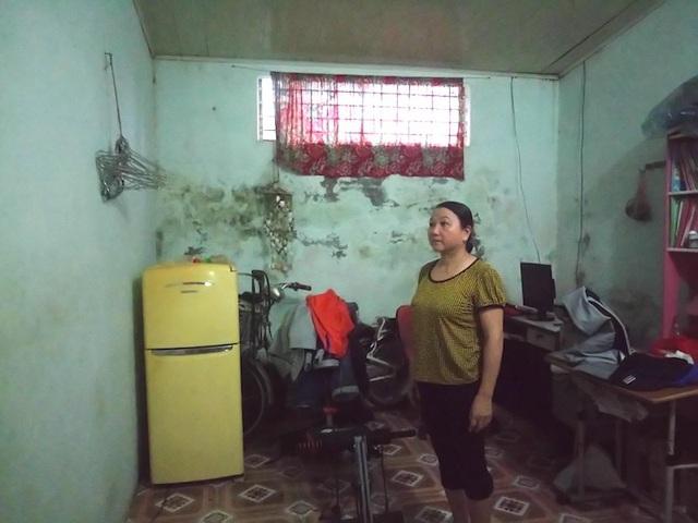 Bà Phương mong muốn được Trường CĐSP tỉnh Hòa Bình và các cơ quan chức năng cho chuyển đổi mục đích sử dụng ngôi nhà.