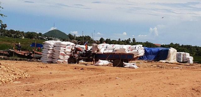 Một điểm tập kết đường lậu Thái Lan trên đất Campuchia giáp với Hà Tiên – Kiên Giang