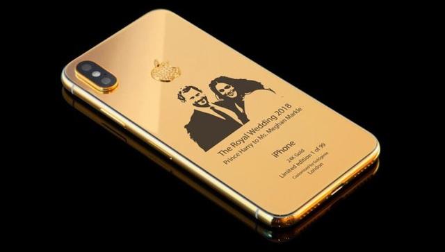 """Chiêm ngưỡng siêu phẩm iPhone X """"đám cưới hoàng gia"""" giá hơn trăm triệu - 2"""