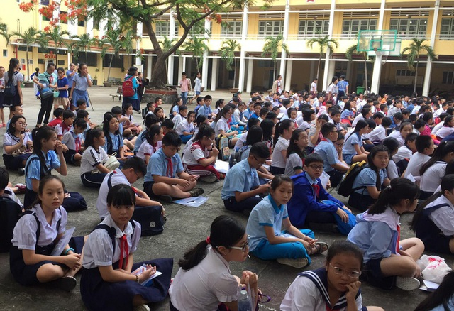 Hàng ngàn học sinh giỏi tranh suất vào lớp 6 trường Trần Đại Nghĩa - 2