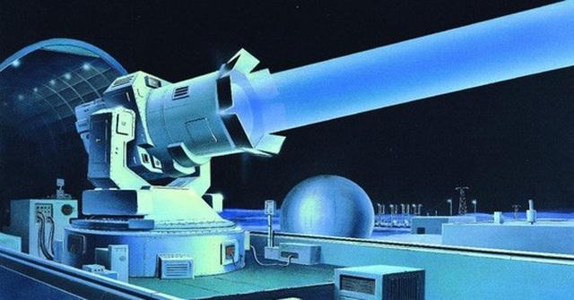 Bản vẽ mô phỏng 1 khẩu pháo laser mà Nga có thể chế tạo. Ảnh: Wikimedia