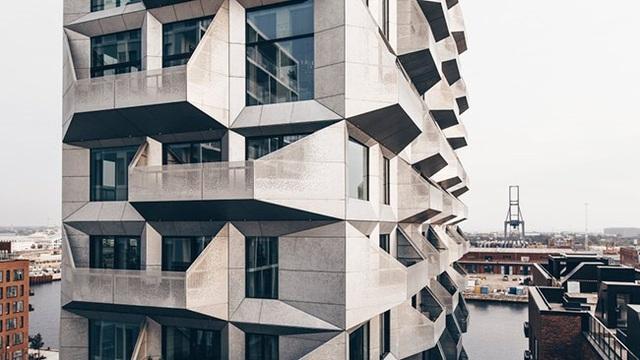 Cận cảnh kiến trúc tòa nhà