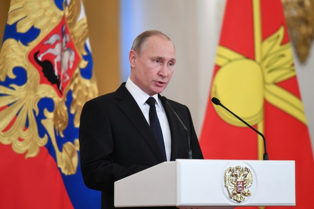 Tổng thống Vladimir Putin (Ảnh: RT)
