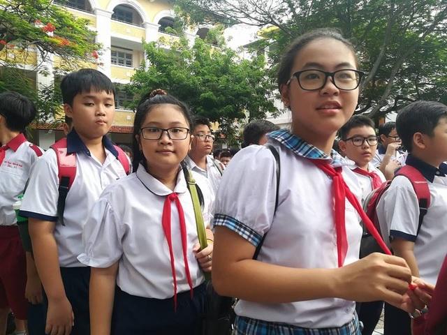 Hàng ngàn học sinh giỏi tranh suất vào lớp 6 trường Trần Đại Nghĩa - 6