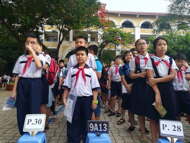 Hàng ngàn học sinh giỏi tranh suất vào lớp 6 trường Trần Đại Nghĩa - 7