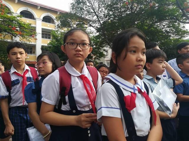Hàng ngàn học sinh giỏi tranh suất vào lớp 6 trường Trần Đại Nghĩa - 8