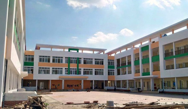 Trường Tiểu học Trần Quốc Toản đang trong quá trình hoàn thiện.