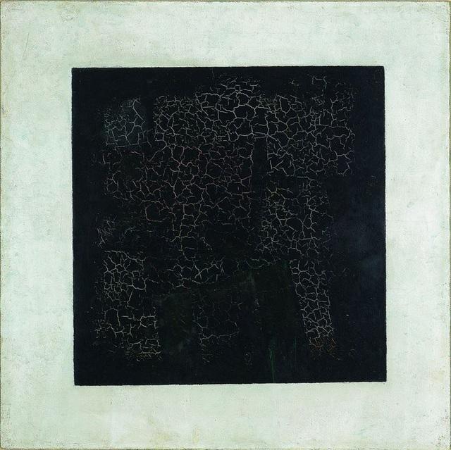 """Bức """"Hình vuông đen"""" (1915) - Kazimir Malevich"""