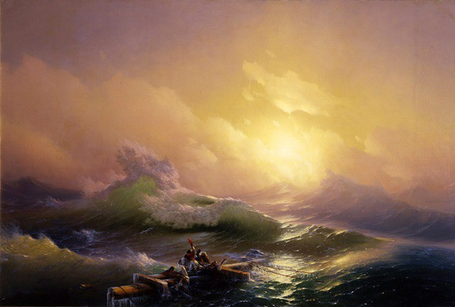 """Bức """"Làn sóng thứ 9"""" (1859) - Ivan Aivazovsky"""