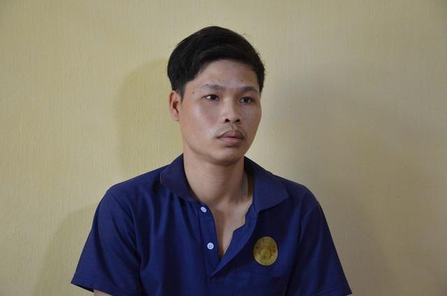 Nguyễn Văn Chất em tại cơ quan công an