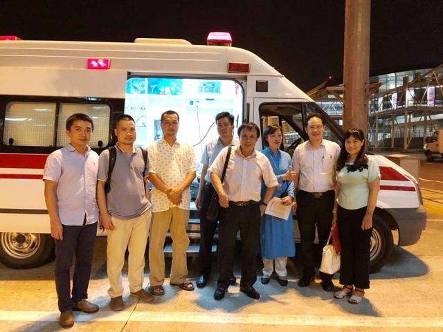 Đội ngũ y bác sĩ Bệnh viện Trung ương Huế