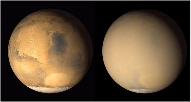 Sao Hỏa đang bị nhấn chìm như thế nào? - 1