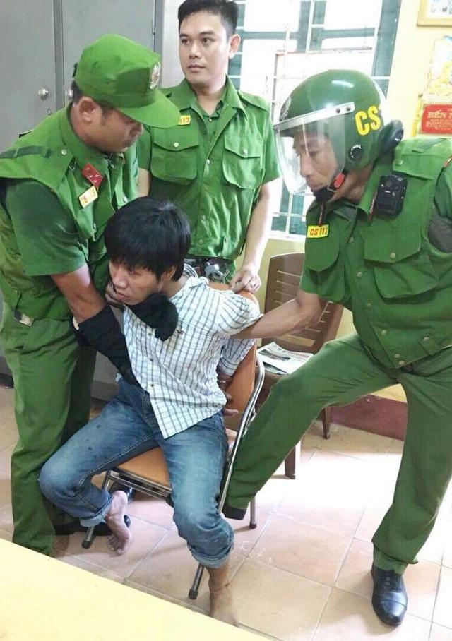 Đối tượng Huỳnh Thanh Duy bị bắt