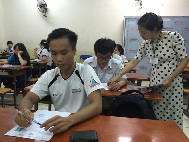 Nhiều cán bộ, giảng viên của các trường ĐH được tập huấn kỹ công tác coi thi
