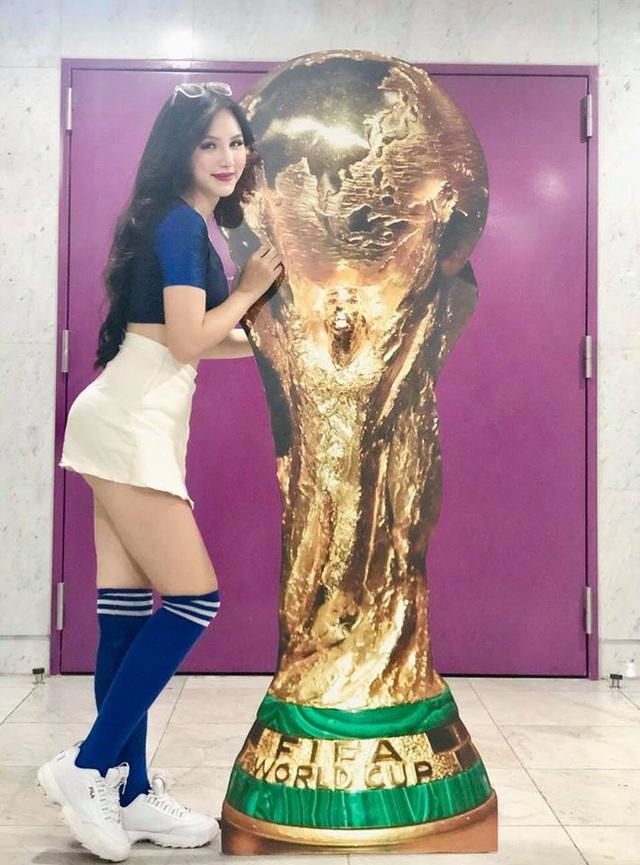 Hot girl sinh năm 1995 là đại diện của đội tuyển Pháp