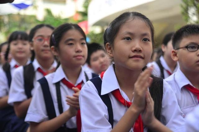 Học sinh Trường Lương Thế Vinh, Hà Nội.