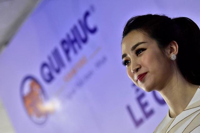 Ấn tượng với các hoạt động thiện nguyện của Qui Phúc nên khi có lời mời đồng hành cùng công ty, Hoa hậu Đỗ Mỹ Linh đã vui vẻ nhận lời